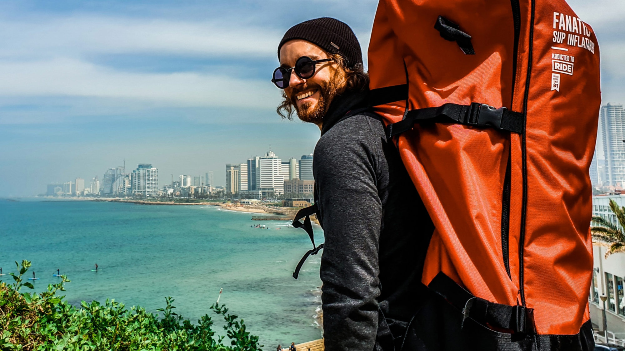 Reisen mit SUP und grandioser Sicht: Ein SUP-Trip nach Tel Aviv.