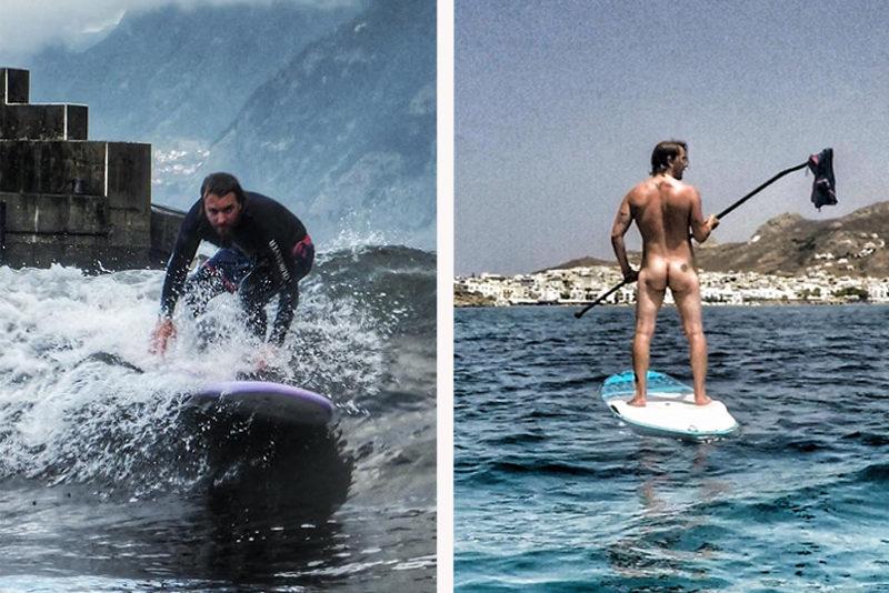 Surfen versus SUPen: Darum ist Paddeln besser als Wellenreiten.