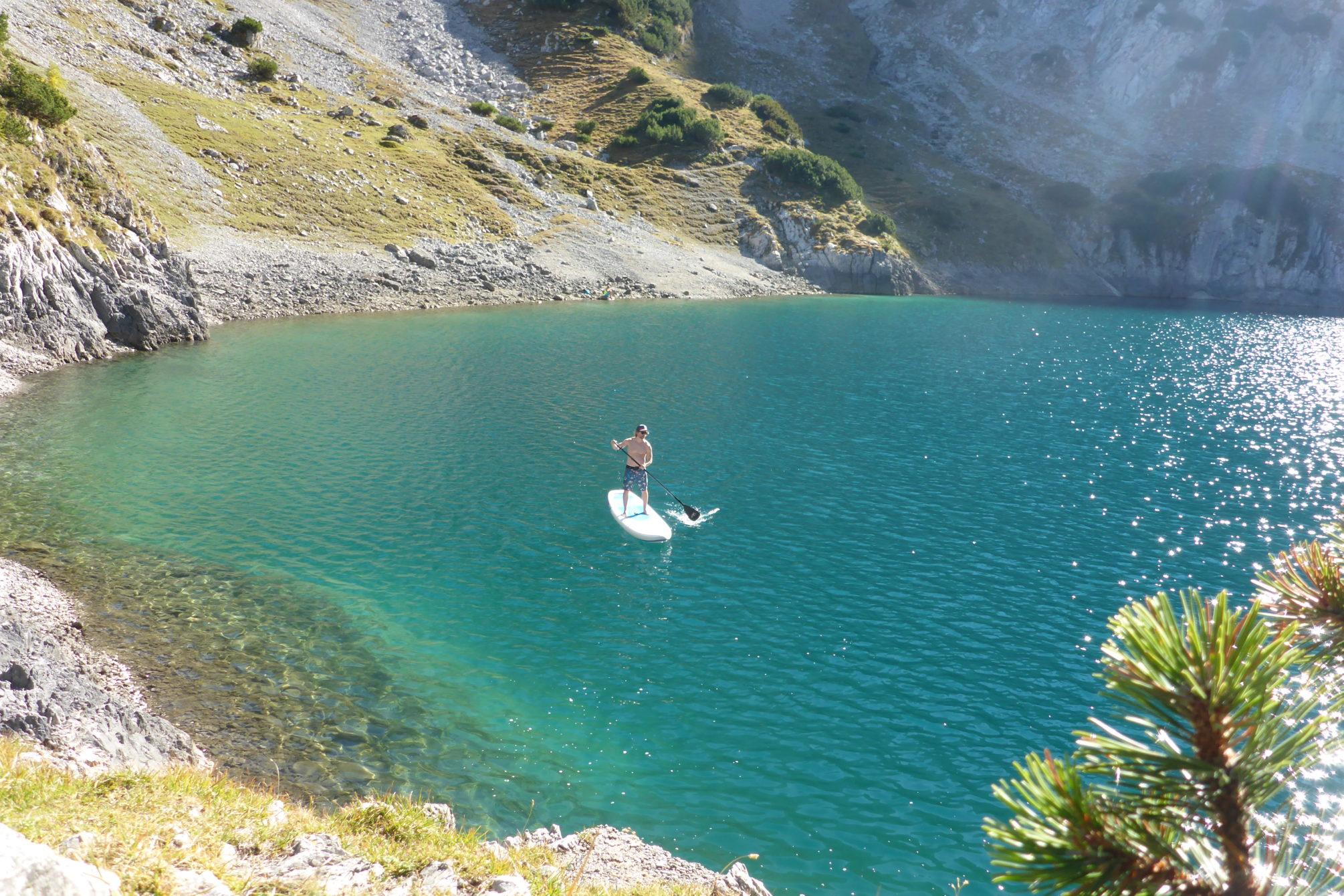 Sagenumwoben - und einfach paradiesisch schön: der Drachensee in Tirol.